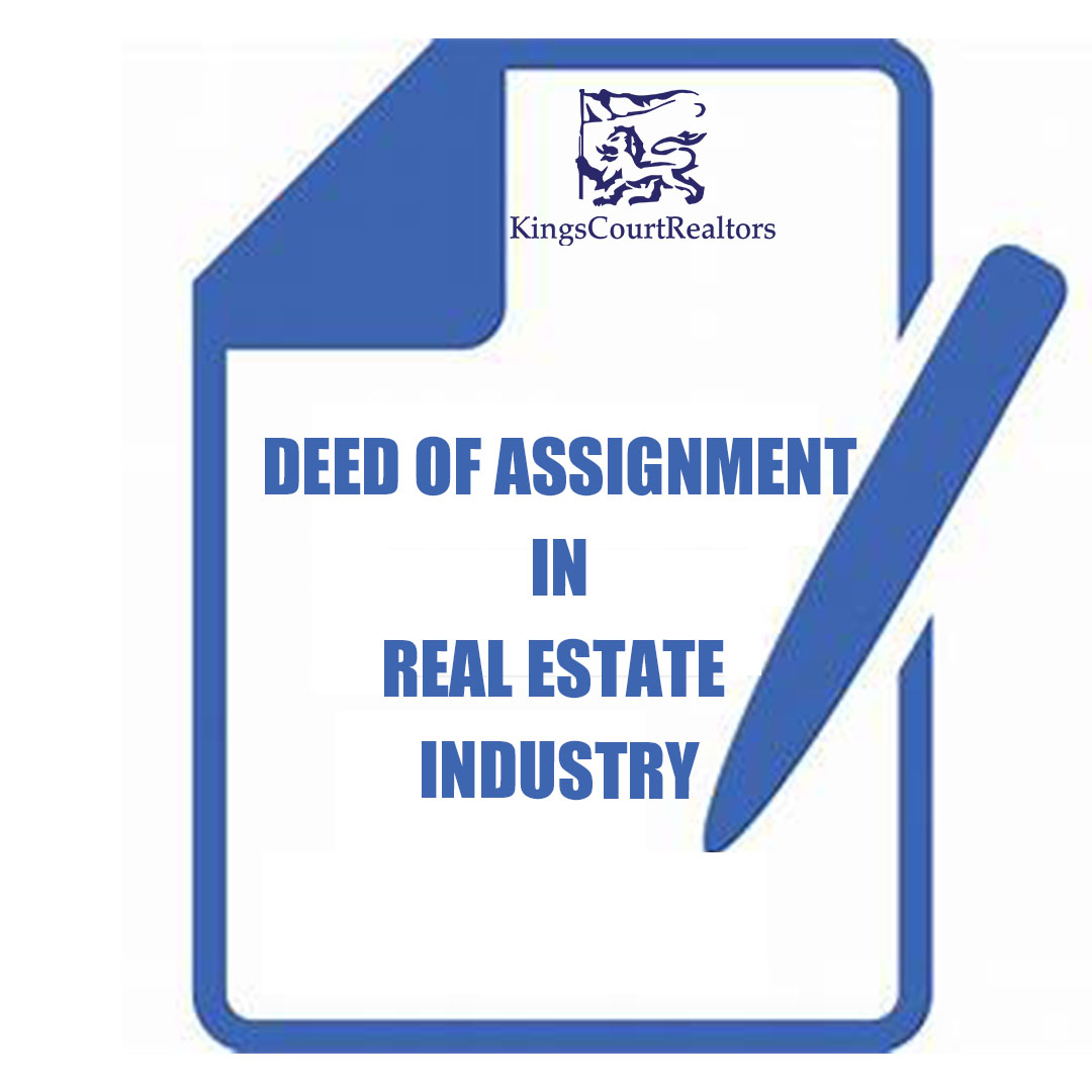 Deed of Assignment in Real Estate